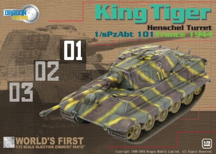 Dragon - King Tiger Henschel
