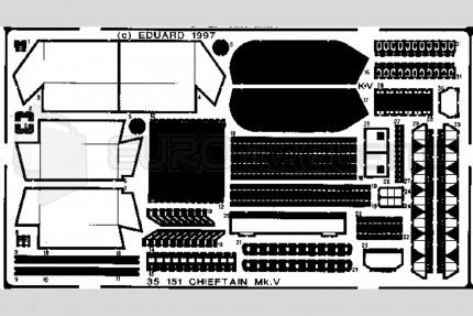 Eduard - Chieftain Mk V (tamiya)