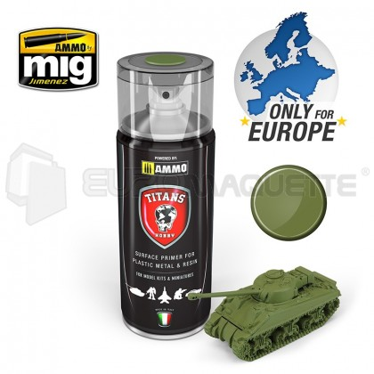 Mig products - Bombe appret military green (400ml)