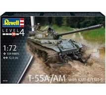 Revell - T-55A & KMT-6/EMT-5