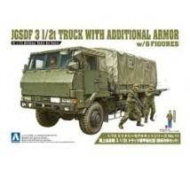 Aoshima - JGSDF 3 I/2t armored truck & soldiers