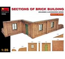 Miniart - Murs de briques