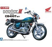 Aoshima - Honda CB400T Hawk II 1977