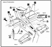 Cmk - A-1H Skyraider détail (tamiya)