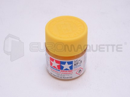 Tamiya - Jaune XF-3 (pot 10ml)