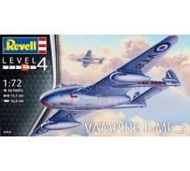 Revell - DH Vampire Mk 3 (Ex SH)