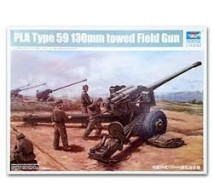 Trumpeter - 130mm Type Field Gun 59 PLA