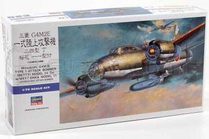 Hasegawa - G4M2 bomber Betty & Ohka