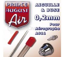 Prince August - Buse & aiguille 0,2 pour A011