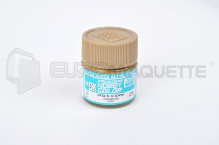 Gunze Sangyo - Vert Marron All. H402 (pot 10ml)
