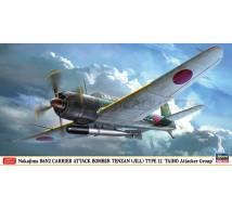 Hasegawa - B6N2  Tenzan Taiho AG & Torpedo