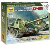 Zvezda - SU-100 1/100