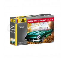 Heller - Jaguar Type E cabriolet