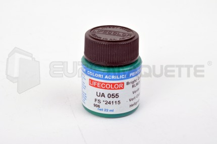 Life Color - Vert lumineux mat RLM25 UA055 (pot 22ml)