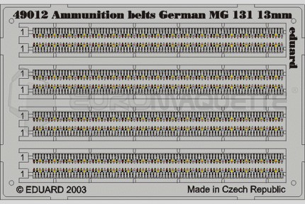 Eduard - Munitions All. MG.131/13mm