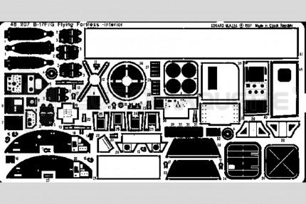 Eduard - B-17 F/G interieur  (revell/monogram)