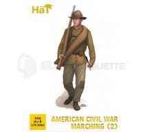 Hat - American Civil War infantry marching (2)
