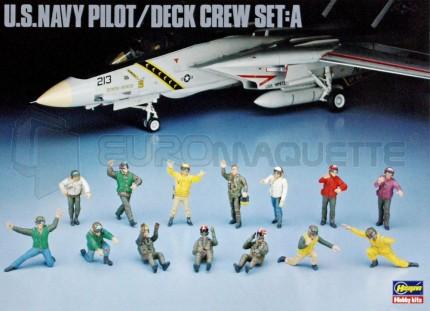 Hasegawa - Pilotes& méca. US Navy