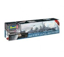 Revell - Fletcher Class Destroyer & detail set