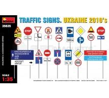 Miniart - Traffic signs Ukraine 2010