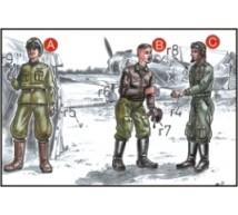 Cmk - Pilote & mécano Russes