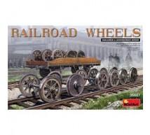 Miniart - Railroad wheels