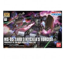 Bandai - HG MS-05 Zaku I Kycilia Forces (0219764)