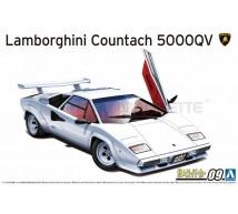 Aoshima - Lamborghini Countach 5000V 1985