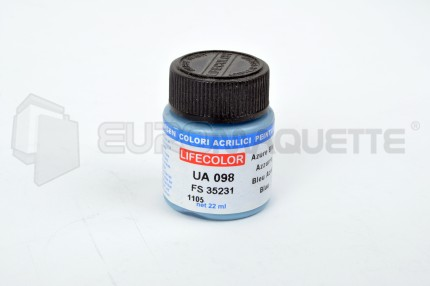 Life Color - Bleu Azur RAF UA098 (pot 22ml)