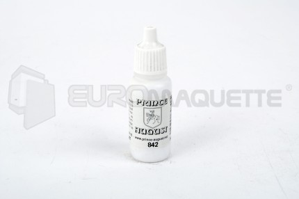 Prince August - Blanc brillant 842 (pot 17ml)