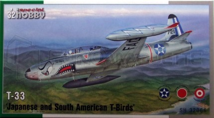 Special hobby - T-33 Japan & south American