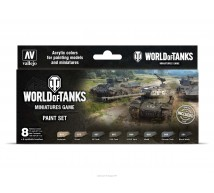 Vallejo - Coffret World of Tanks colors (x8)