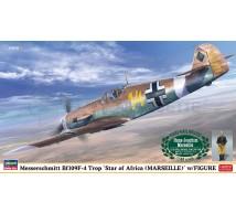 Hasegawa - BFf-109 F-4 & HJ Marseille Figure