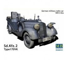 Master Box - SdKfz 2 Radio