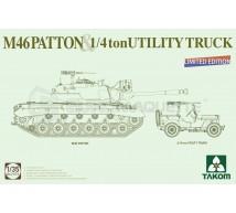 Takom - Combo Jeep & M46 Patton