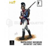Hat - Infanterie Bavaroise en action
