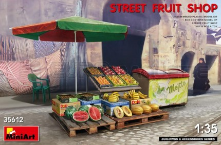 Miniart - Street fruit shop
