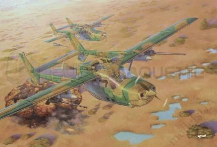 Roden - Reims Lynx Bush War