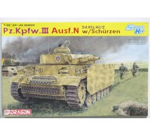 Dragon - Pz III Ausf N & schurzen