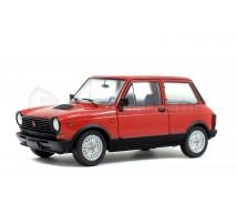 Solido - Autobianchi A112 1980 rouge