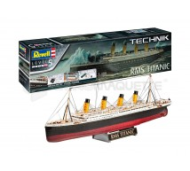 Revell - RMS Titanic Teknik