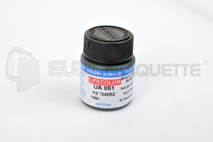 Life Color - Vert noir RLM70 UA051 (pot 22ml)