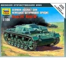 Zvezda - Stug III Ausf B 1/100
