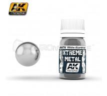 Ak interactive - Xtreme metal White Aluminium