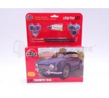 Airfix - Coffret Triumph TR4A