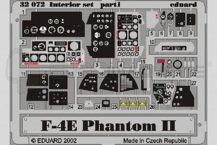 Eduard - F-4E Phantom interieur(tamiya)