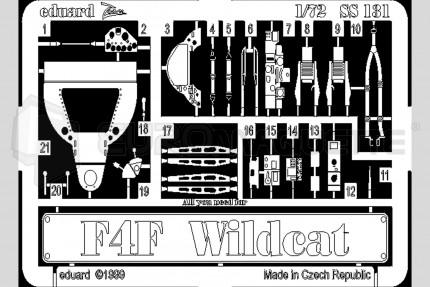 Eduard - F4F-4 Wildcat  (hasegawa)