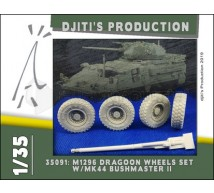 Djiti production - M196 Wheels set & Gun