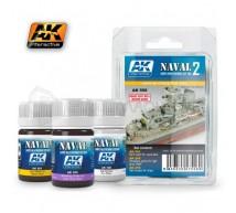 Ak interactive - Coffret Weathering Naval 2