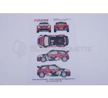 Racing decals 43 - DS3 Loeb Condroz 2013